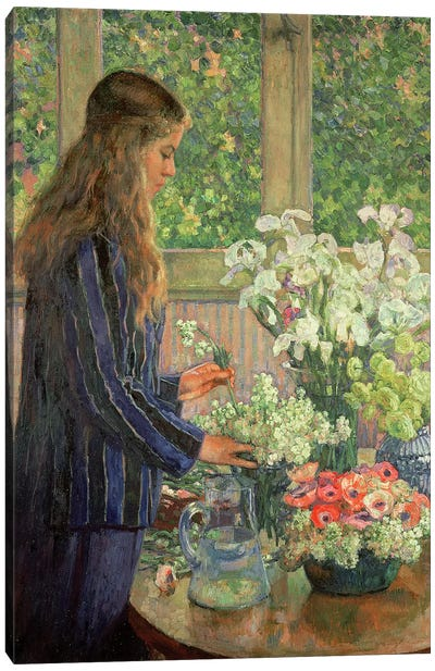 Garden Flowers  Canvas Art Print