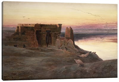 Kom Ombo Temple, Egypt  Canvas Art Print