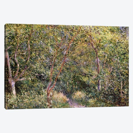 In the Wood Canvas Print #BMN4548} by Alfred Sisley Canvas Print