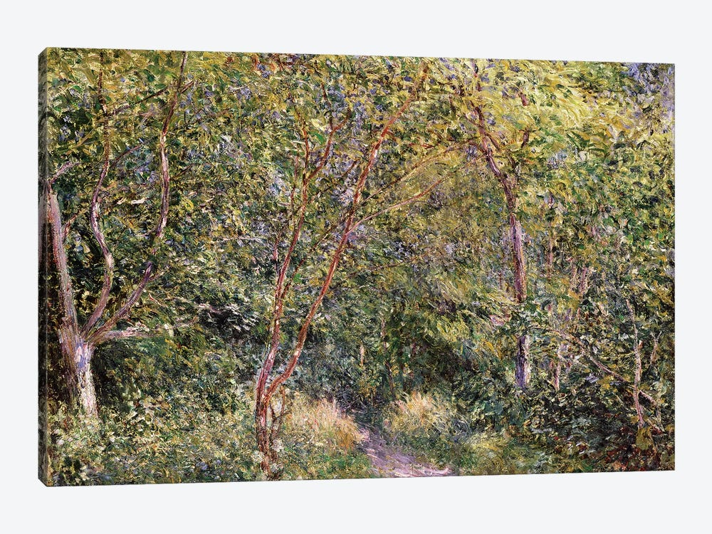 In the Wood by Alfred Sisley 1-piece Canvas Print