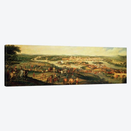 Siege of Magdeburg, 20th March 1631 Canvas Print #BMN4563} by Alexander Marshal Canvas Art Print