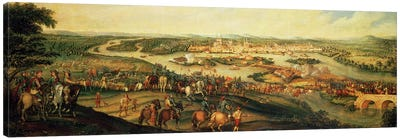 Siege of Magdeburg, 20th March 1631 Canvas Art Print