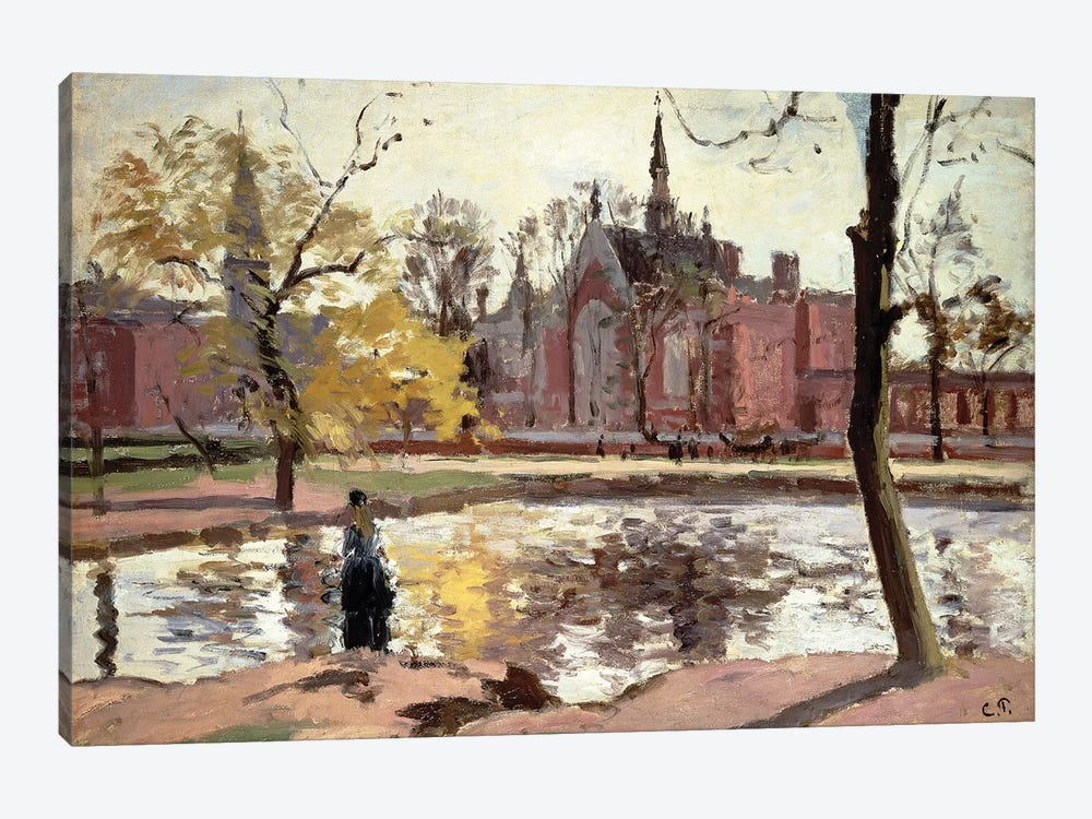 Dulwich College, London, 1871 by Camille Pissarro 1-piece Art Print
