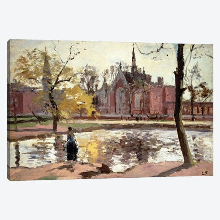 Dulwich College, London, 1871 Canvas Print #BMN4564} by Camille Pissarro Canvas Artwork