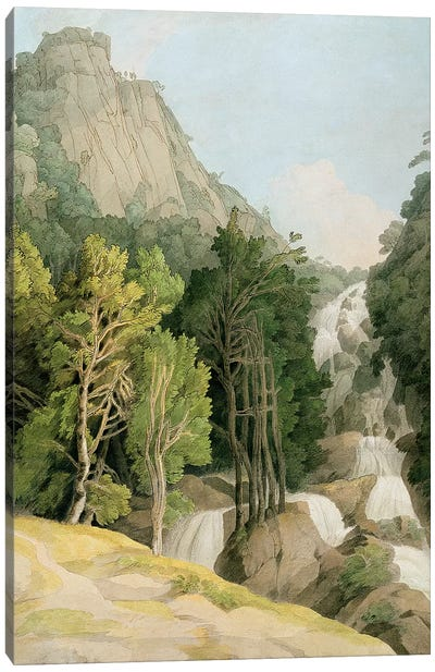 Lodore Falls Canvas Art Print