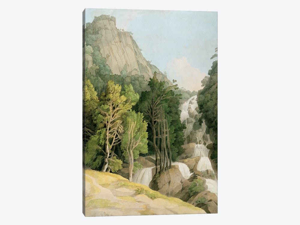 Lodore Falls by Francis Towne 1-piece Art Print