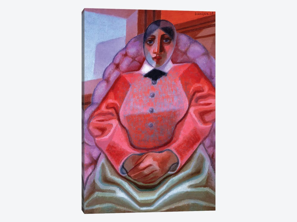 Lady in a Chair, 1925 by Juan Gris 1-piece Canvas Artwork