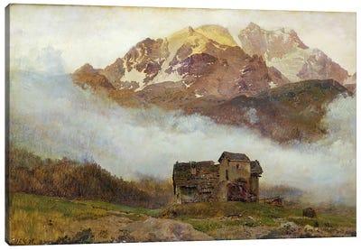 Kanton Bern: A Swiss Landscape  Canvas Art Print