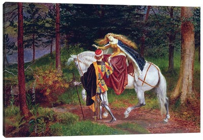 La Belle Dame Sans Merci Canvas Art Print