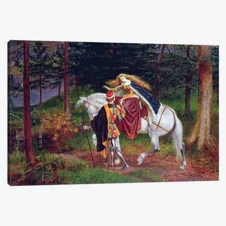 La Belle Dame Sans Merci Canvas Print #BMN4574} by Walter Crane Art Print