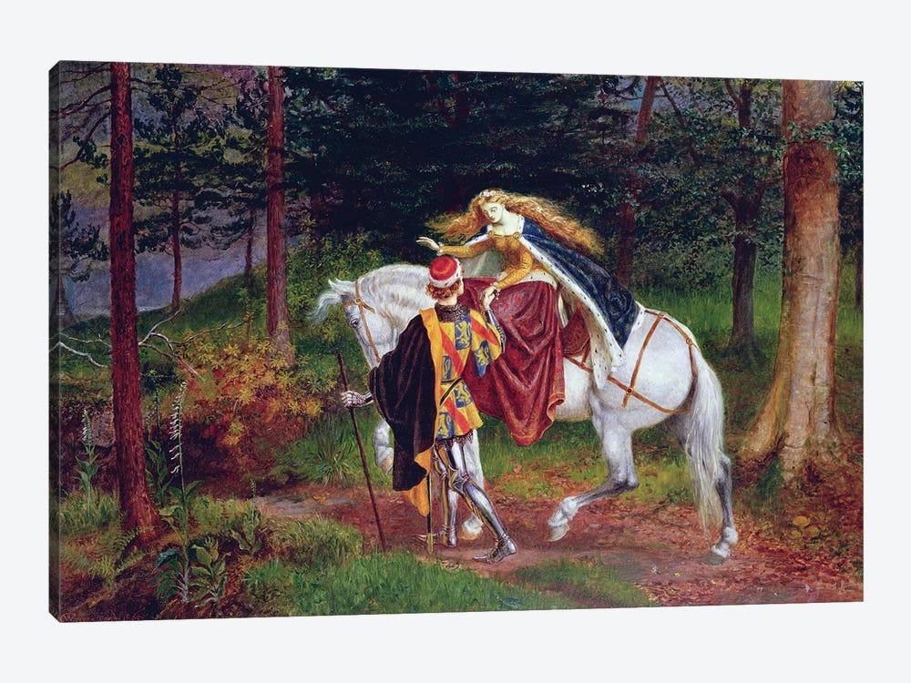 La Belle Dame Sans Merci by Walter Crane 1-piece Canvas Art