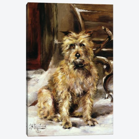 Waiting for Master Canvas Print #BMN4576} by Jane Bennett Constable Canvas Art Print