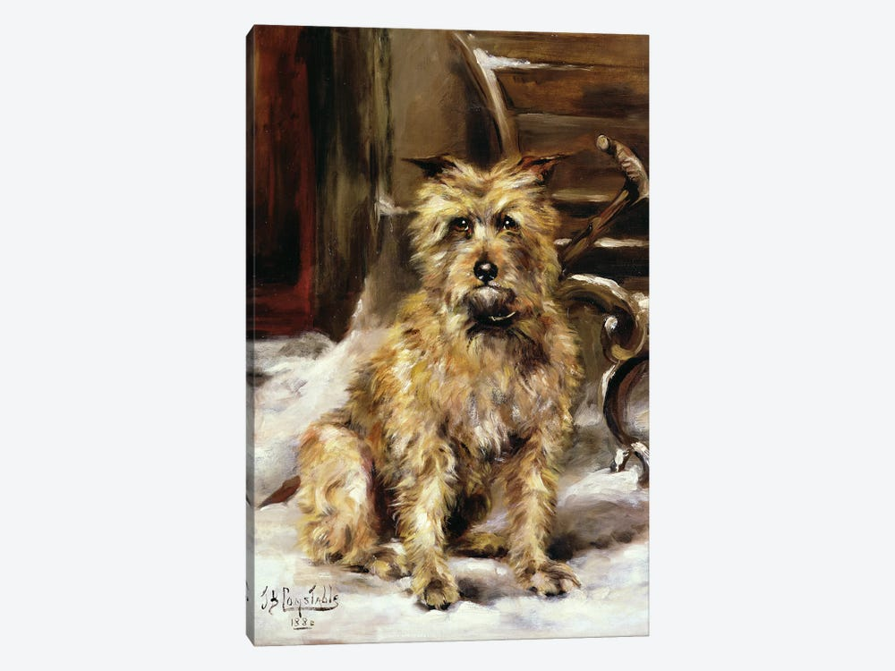 Waiting for Master by Jane Bennett Constable 1-piece Canvas Wall Art