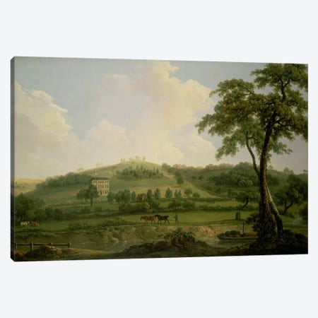 View of Oakage Hall, Colwich  Canvas Print #BMN4579} by Nicholas Thomas Dall Canvas Artwork