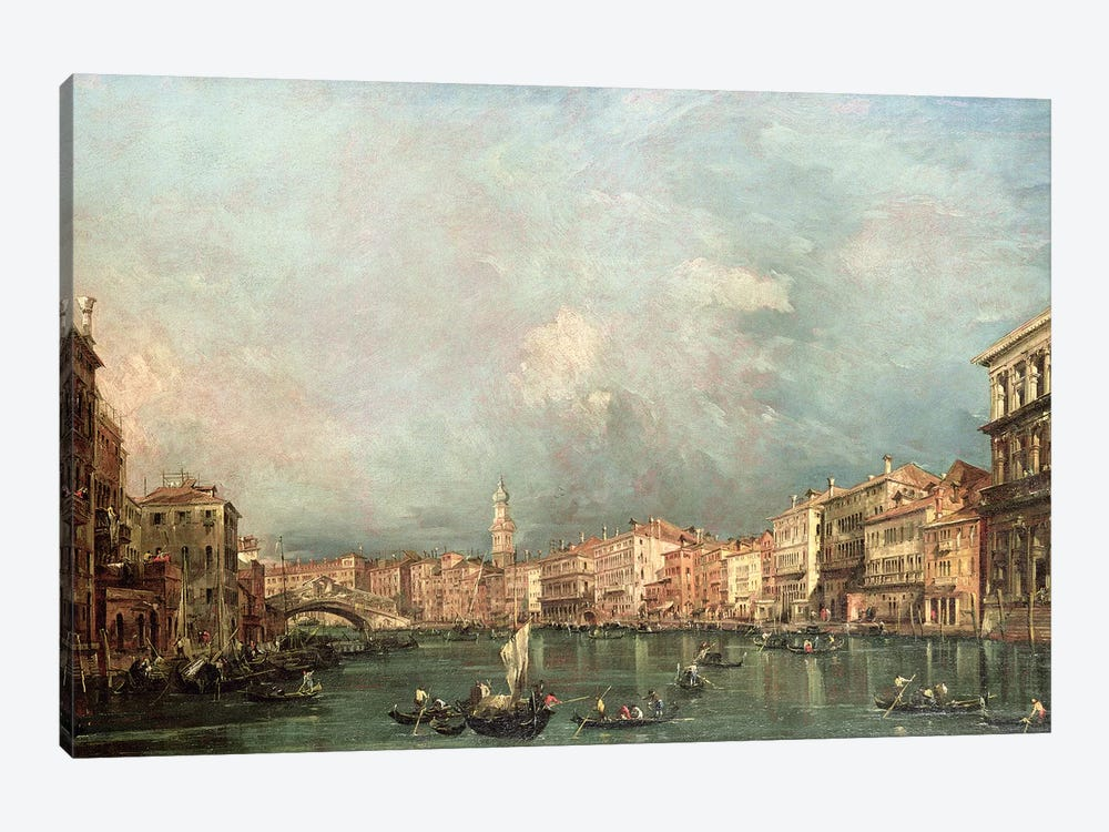 The Grand Canal, Venice by Francesco Guardi 1-piece Canvas Print