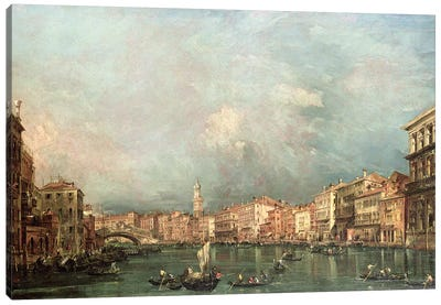 The Grand Canal, Venice Canvas Art Print