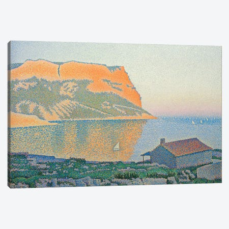 Cap Canaille, Cassis, 1889  Canvas Print #BMN4588} by Paul Signac Canvas Print