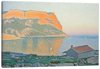 Cap Canaille, Cassis, 1889  Canvas Art Print