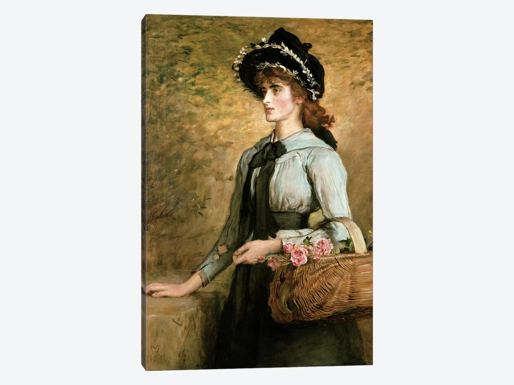 Sweet Emma Morland, 1892  1-piece Canvas Print