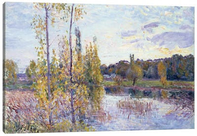 The Lake at Chevreuil Canvas Art Print