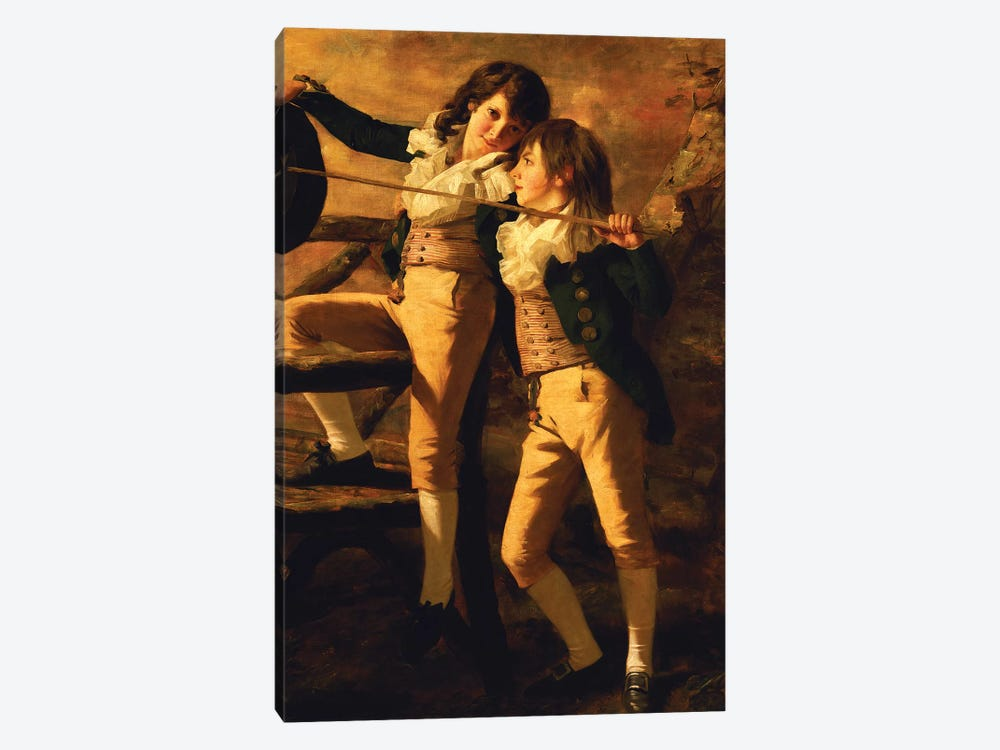 The Allen Brothers by Sir Henry Raeburn 1-piece Canvas Print