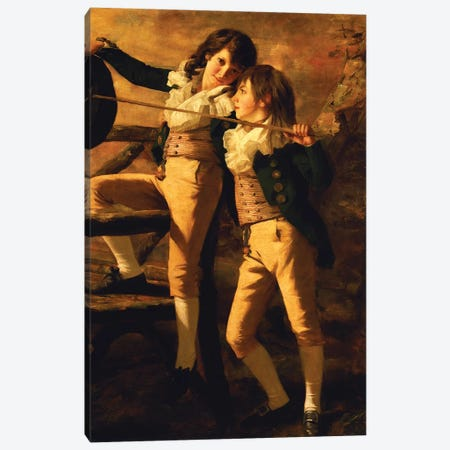 The Allen Brothers Canvas Print #BMN4608} by Sir Henry Raeburn Canvas Wall Art