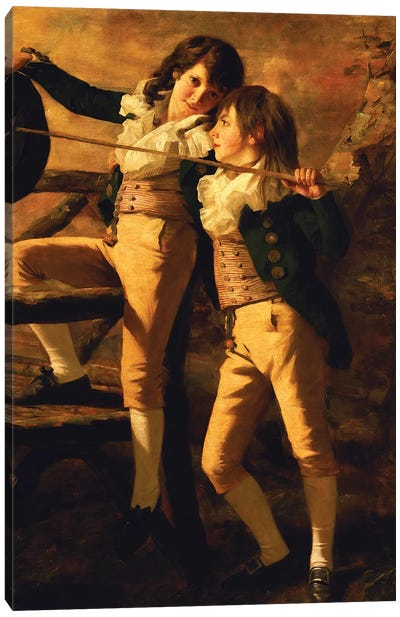 The Allen Brothers Canvas Art Print