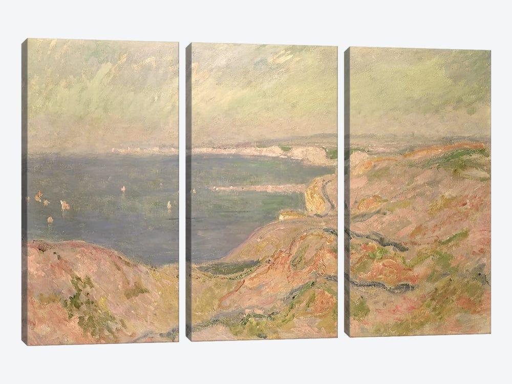 Seascape by Claude Monet 3-piece Canvas Wall Art