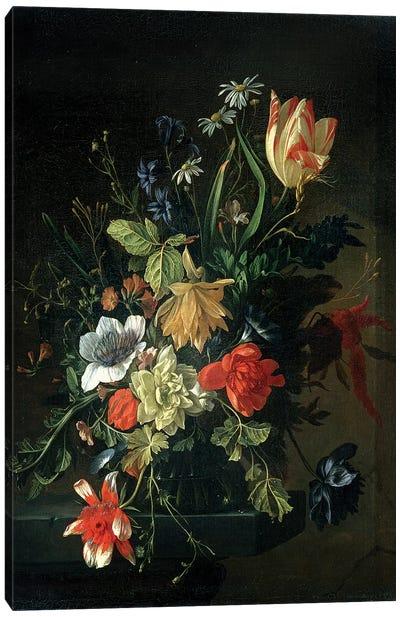 Still Life of Flowers Canvas Art Print