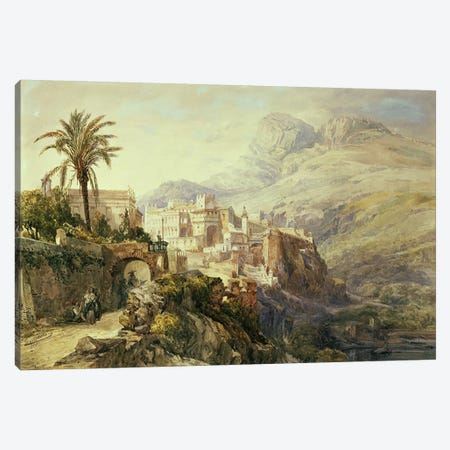 Moroccan Landscape  Canvas Print #BMN4617} by Jacques Guiaud Canvas Wall Art