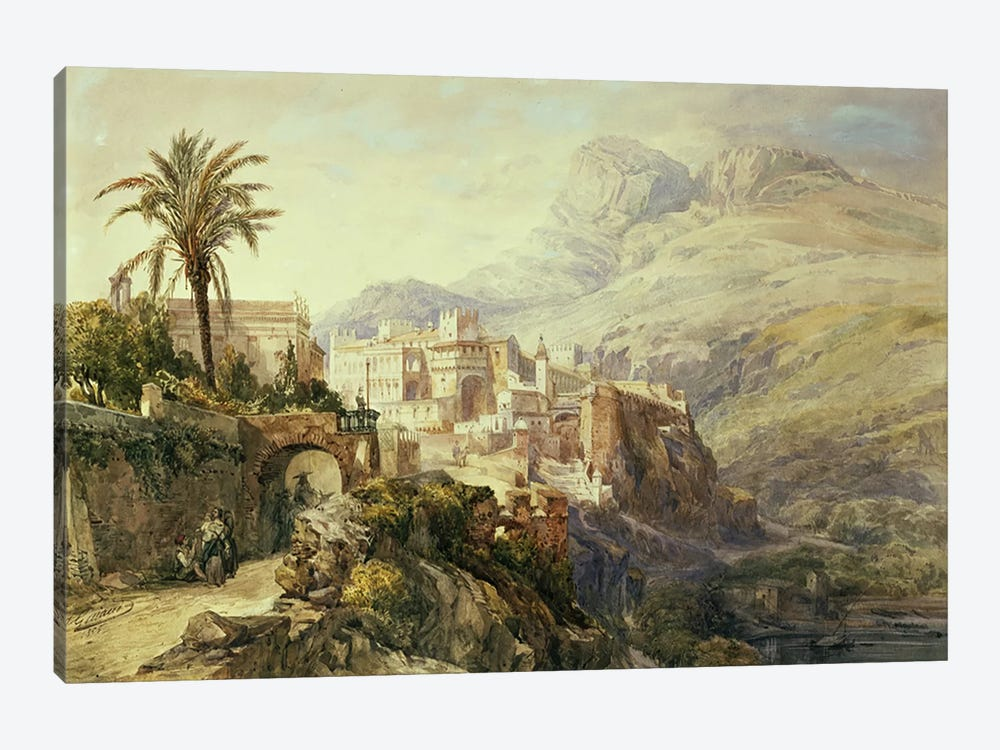 Moroccan Landscape  by Jacques Guiaud 1-piece Canvas Print