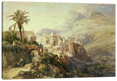 Moroccan Landscape  Canvas Art Print