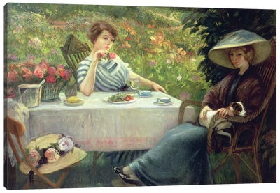Tea Time Canvas Art Print