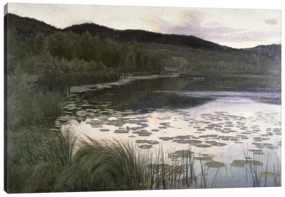 Summer Night, 1886 Canvas Art Print