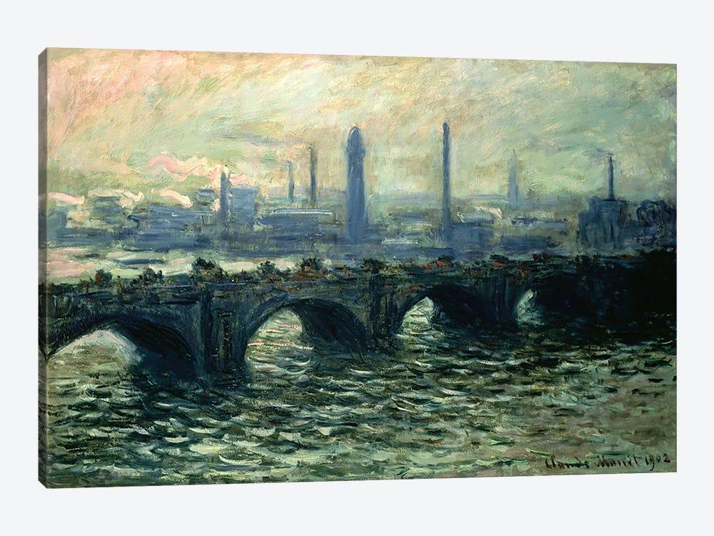 Waterloo Bridge, 1902 by Claude Monet 1-piece Canvas Artwork