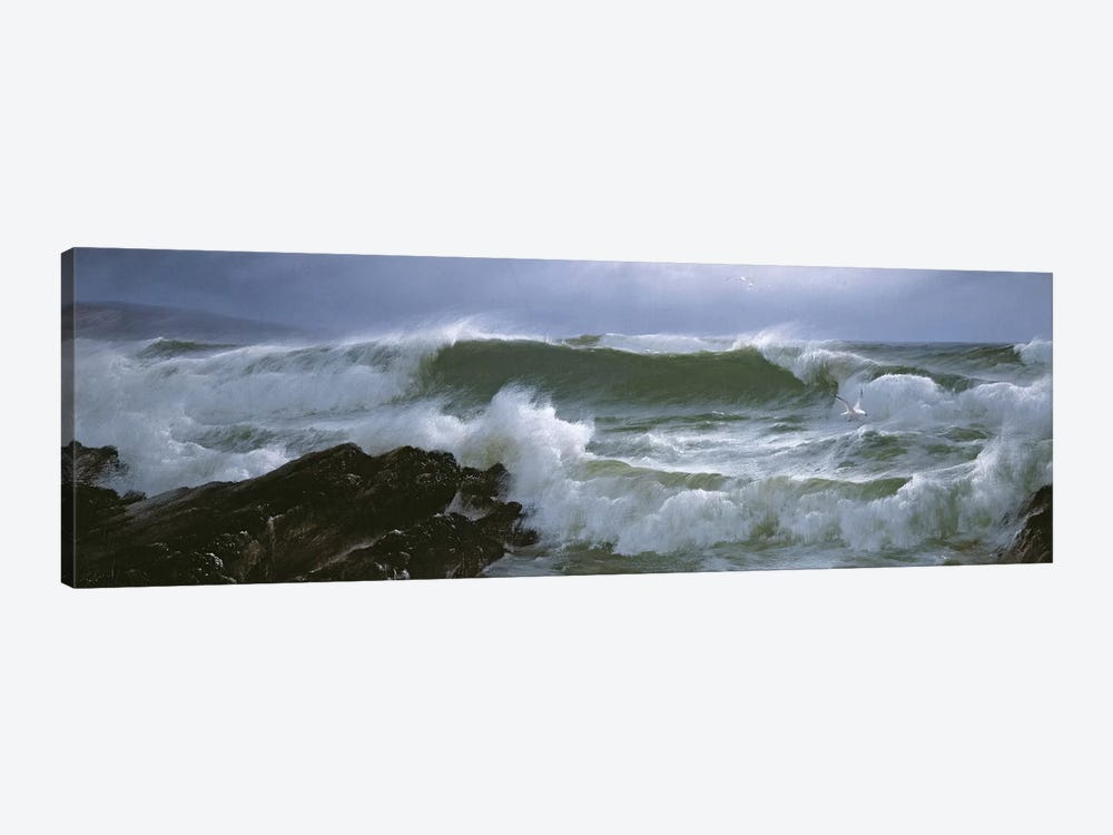 Rough Sea  by David James 1-piece Art Print