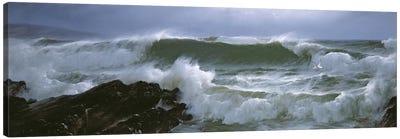 Rough Sea  Canvas Art Print