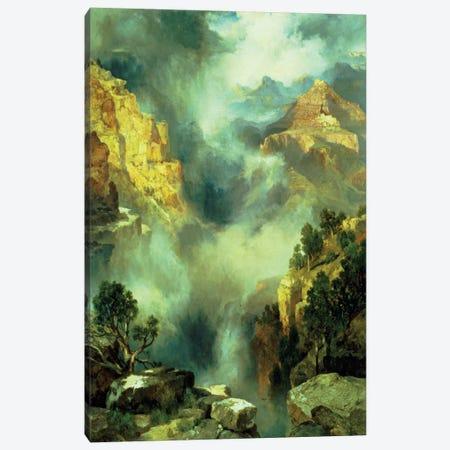 Mist in the Canyon, 1914  Canvas Print #BMN4639} by Thomas Moran Art Print