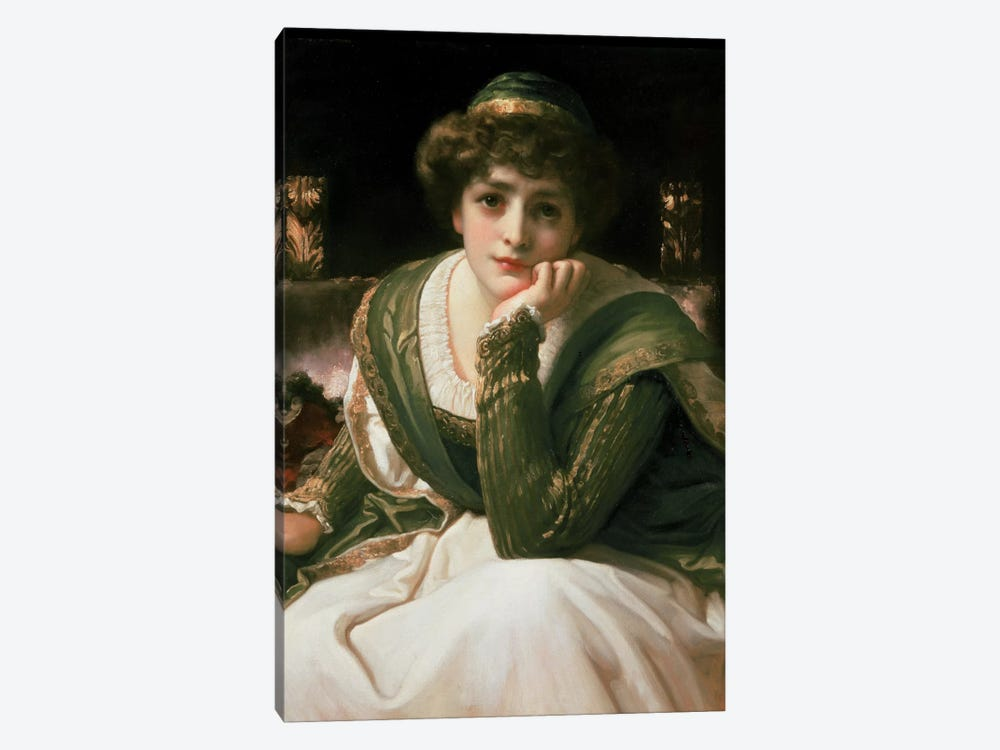 Desdemona by Frederick Leighton 1-piece Canvas Art Print