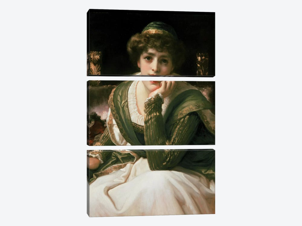 Desdemona  by Frederick Leighton 3-piece Art Print