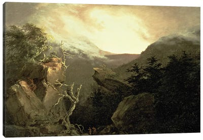 Mountain Sunrise, 1826  Canvas Art Print