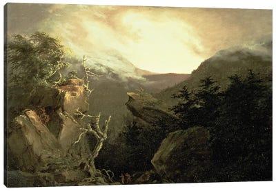 Mountain Sunrise, 1826  Canvas Art Print