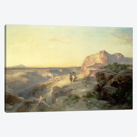 Red Rock Trail, South Utah, 1913  Canvas Print #BMN4650} by Thomas Moran Art Print