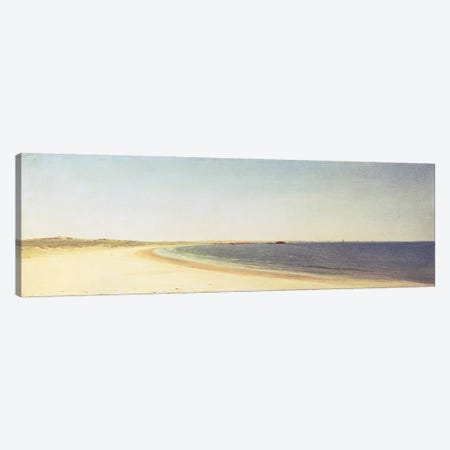Near Newport  Canvas Print #BMN4652} by John Frederick Kensett Art Print