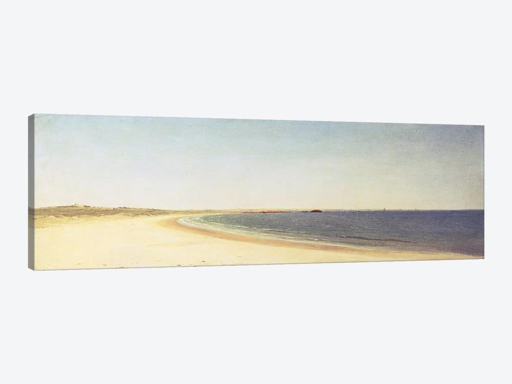 Near Newport  by John Frederick Kensett 1-piece Canvas Artwork