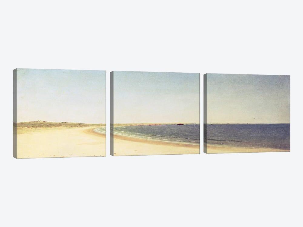Near Newport  by John Frederick Kensett 3-piece Canvas Wall Art