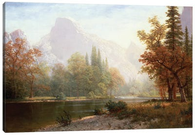 Half Dome, Yosemite  Canvas Art Print
