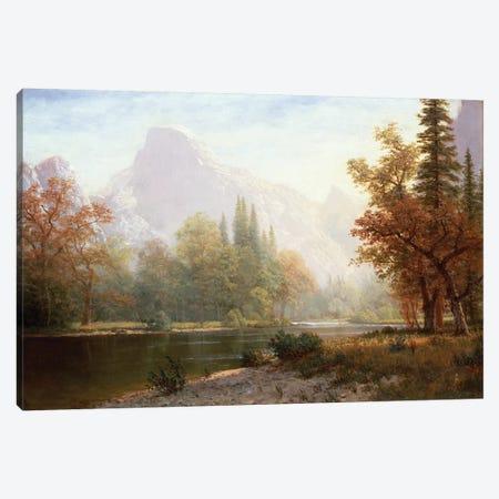 Half Dome, Yosemite  Canvas Print #BMN4658} by Albert Bierstadt Canvas Print
