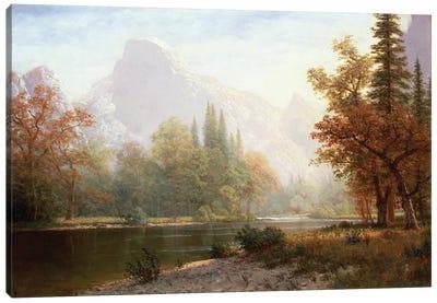 Half Dome, Yosemite  Canvas Art Print