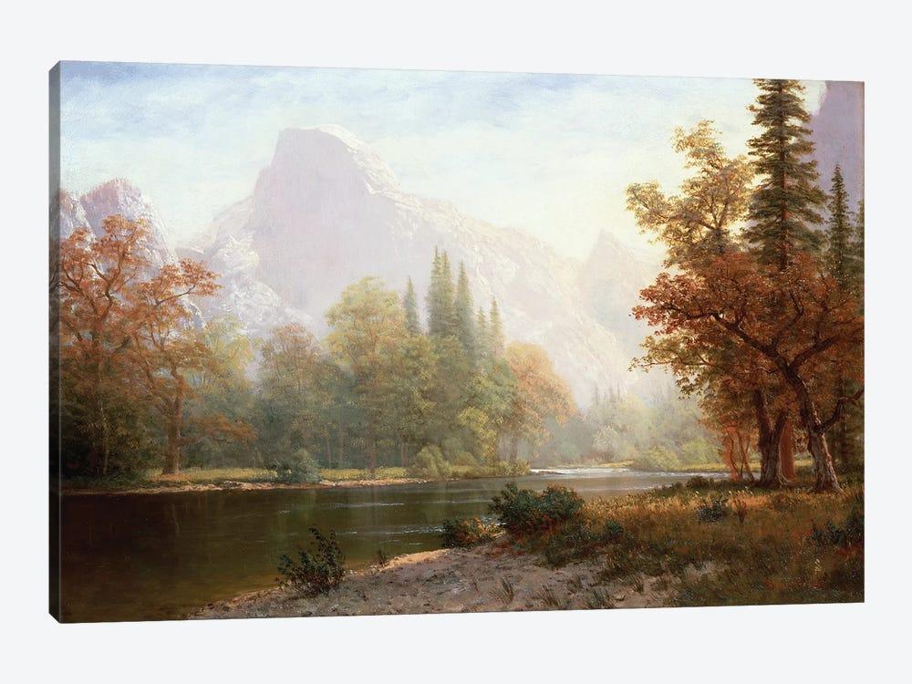Half Dome, Yosemite  by Albert Bierstadt 1-piece Canvas Art